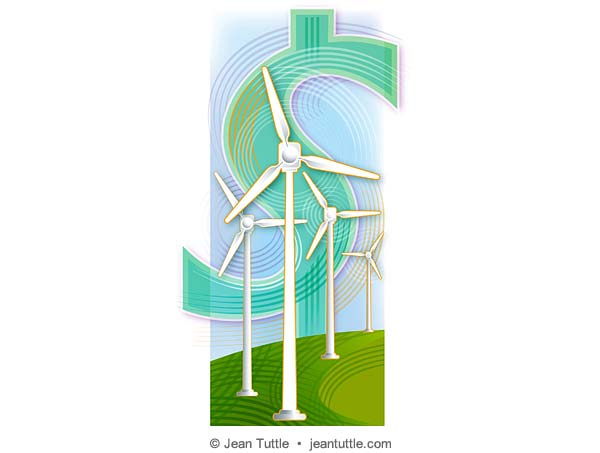 Windpower for Barron's